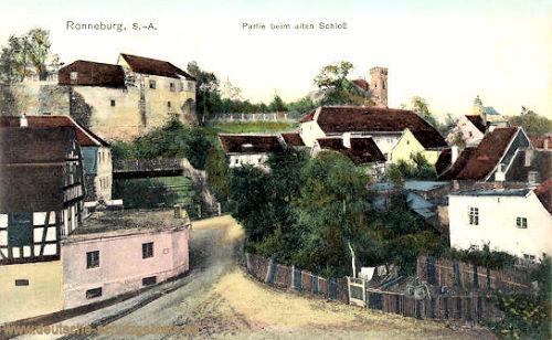 Ronneburg S.-A., Partie beim alten Schloss