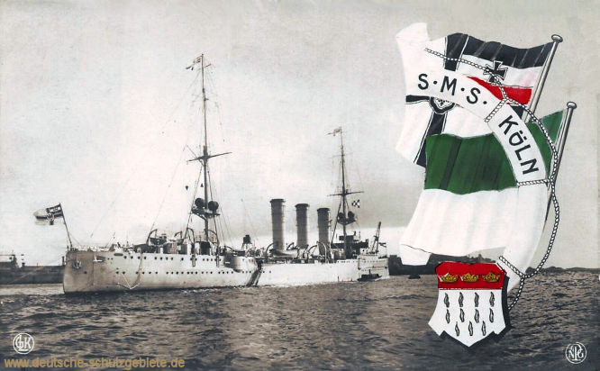 S.M.S. Cöln, Kleiner Kreuzer