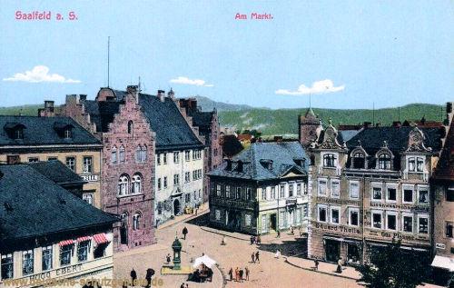 Saalfeld, Am Markt