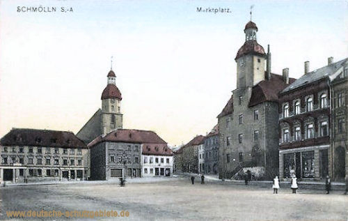 Schmölln S._A., Marktplatz