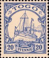 Togo Nr. 10, 20 Pfennig