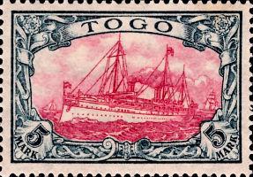 Togo Nr. 19, 5 Mark