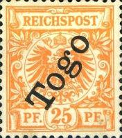 Togo Nr. 5, 25 Pfennig