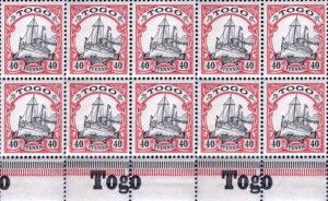 Togo Briefmarken