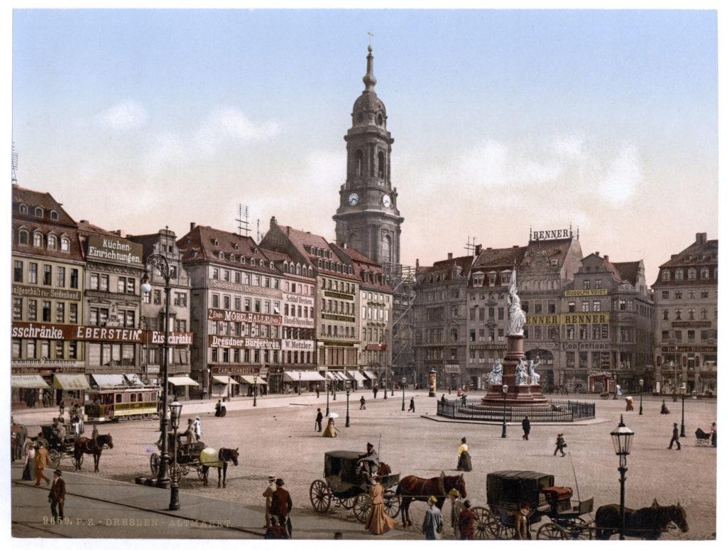 Dresden. Altmarkt