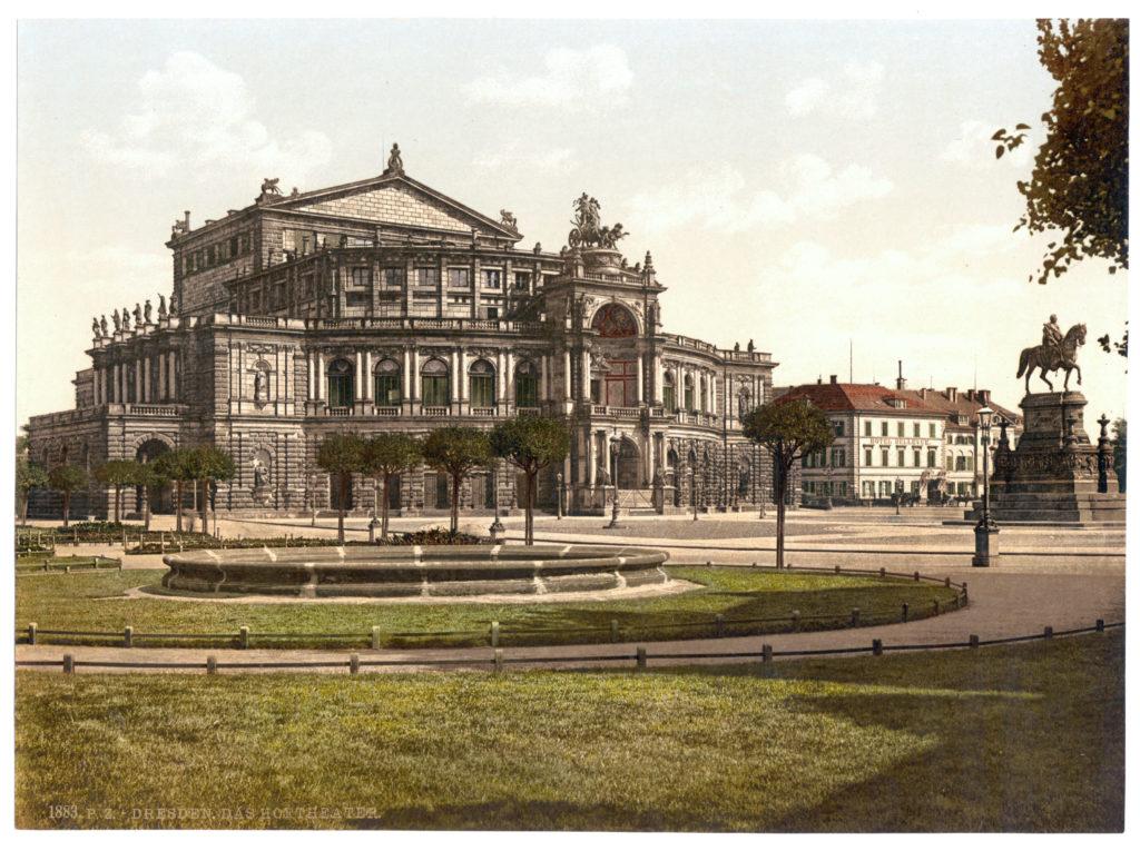 Dresden. Das Hoftheater