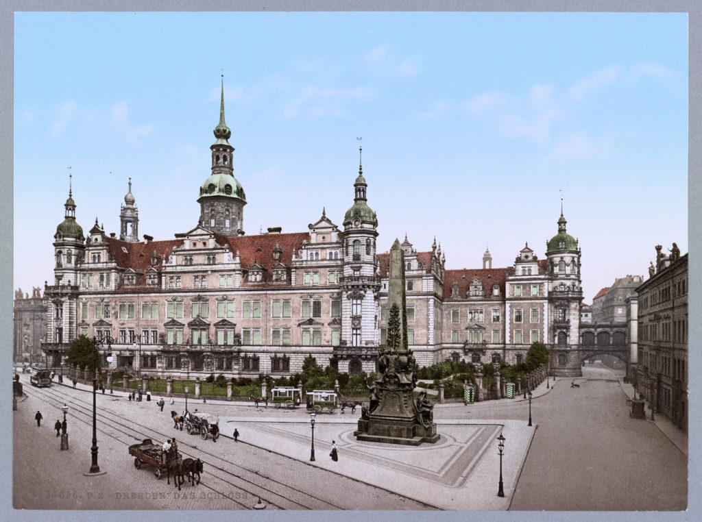 Dresden. Das Schloss
