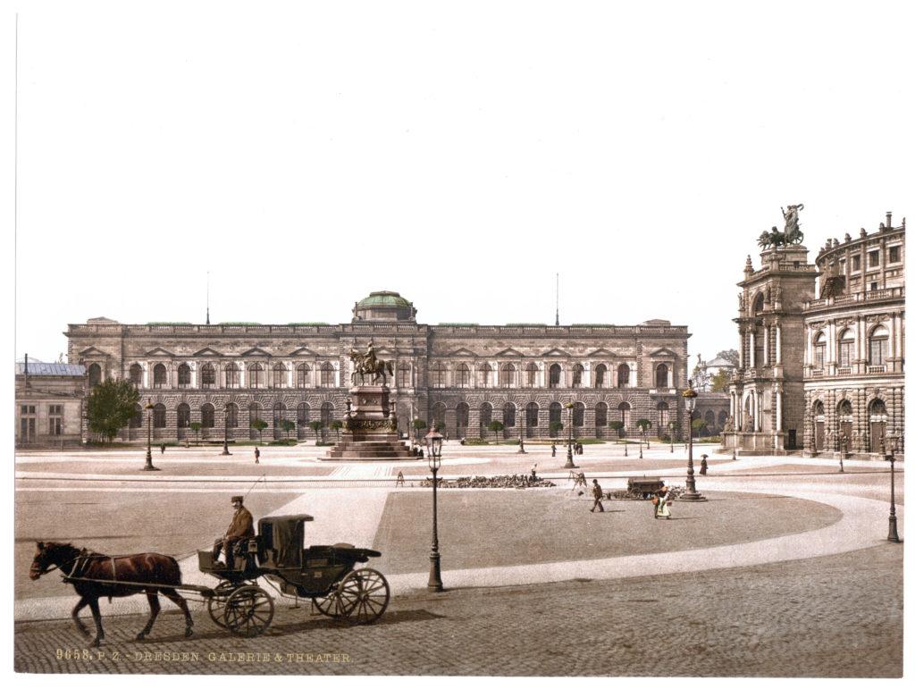 Dresden. Galerie & Theater