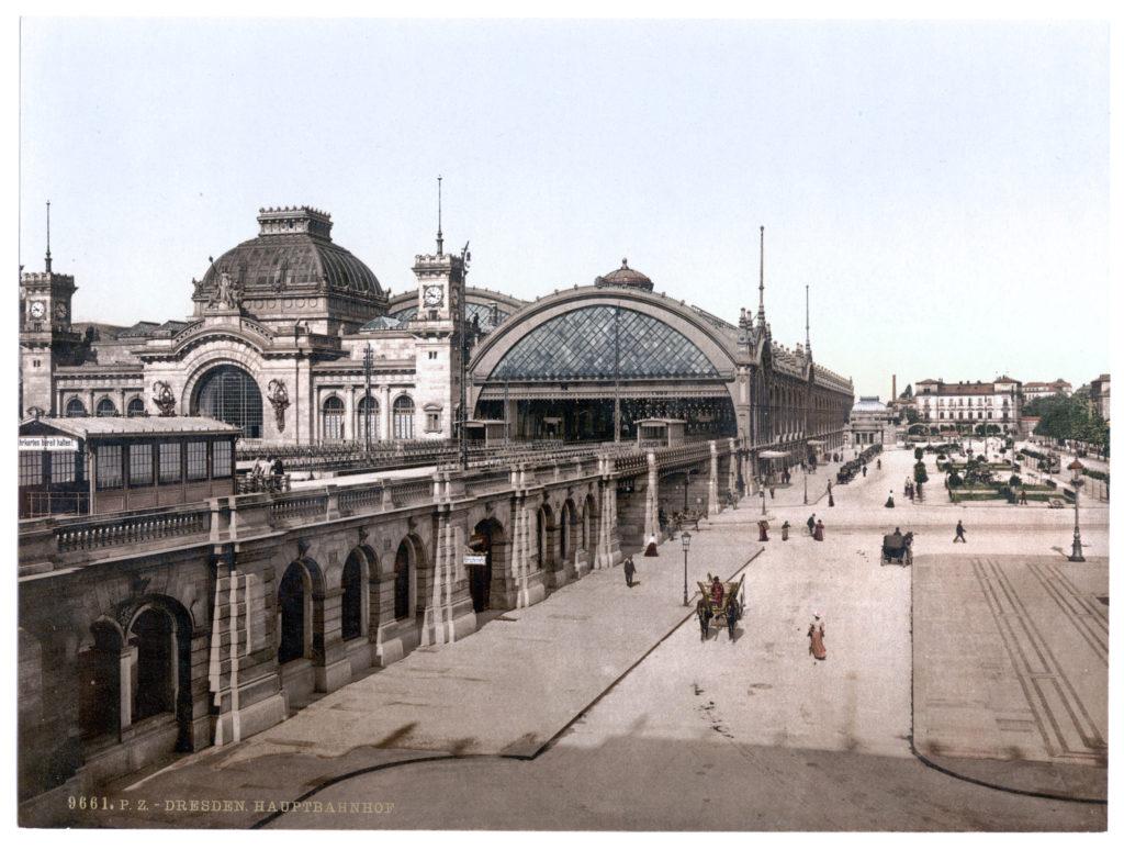 Dresden. Hauptbahnhof