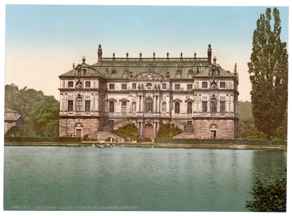 Dresden. Palais & Teich im Grossen Garten