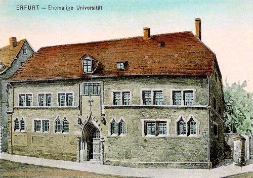 Erfurt, Ehemalige Universität