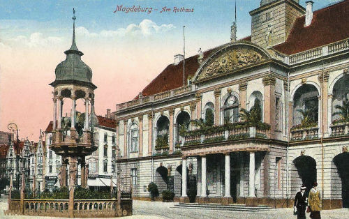 Magdeburg, Am Rathaus