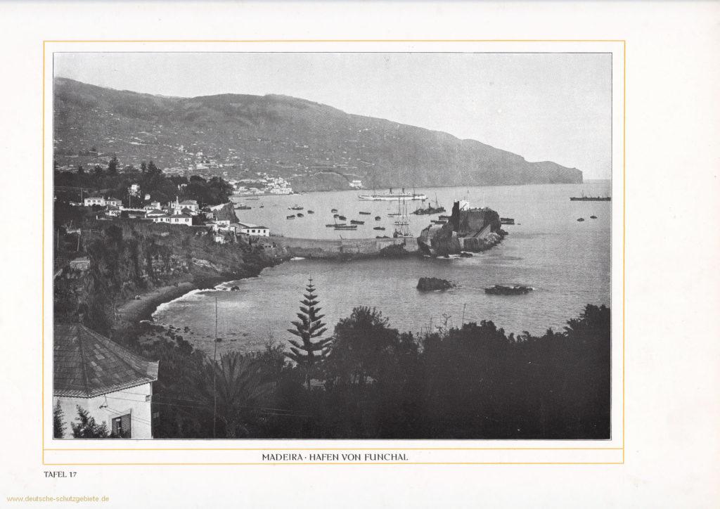 Madeira - Hafen von Funchal