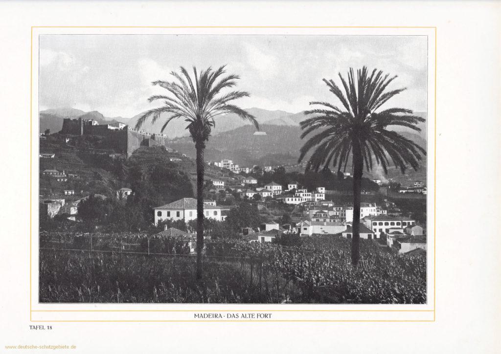 Madeira - Das alte Fort