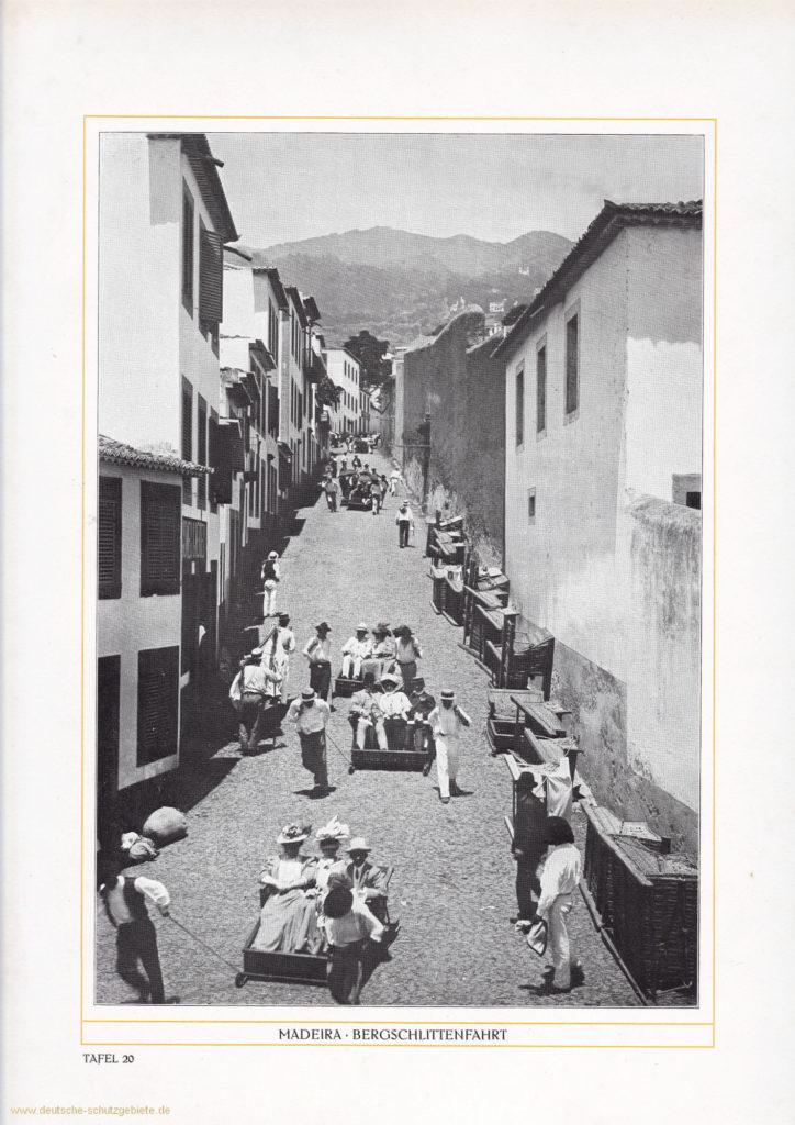 Madeira - Bergschlittenfahrt
