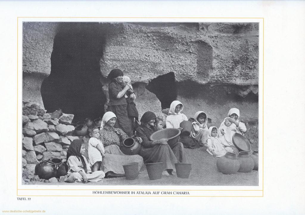 Höhlenbewohner in Atalaja auf Gran Canaria