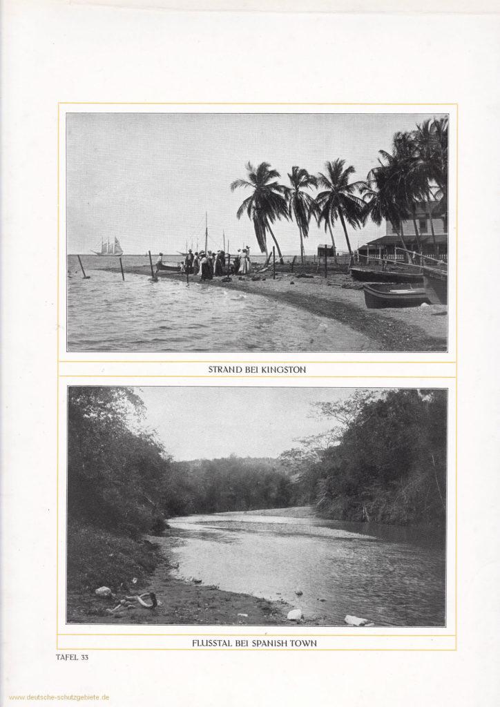 Strand bei Kingston – Flusstal bei Spanish Town