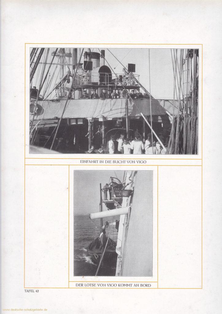 Einfahrt in die Bucht von Vigo – Der Lotse von Vigo kommt an Bord