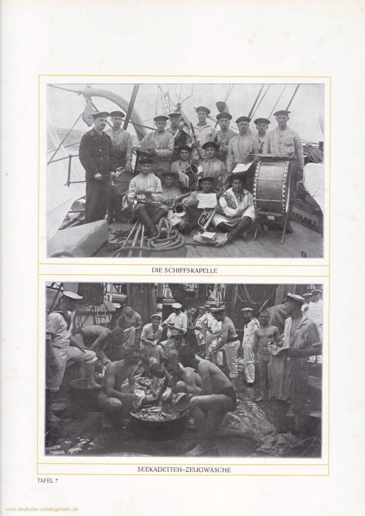 Die Schiffskapelle - Seekadetten-Zeugwäsche