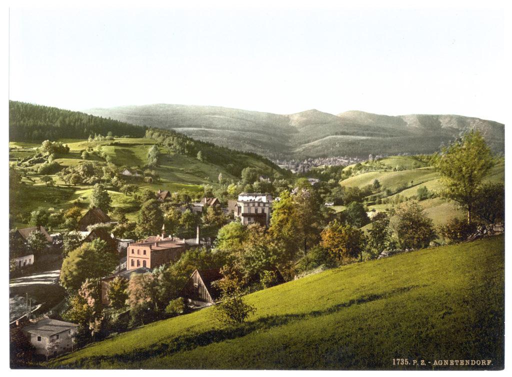 Agnetendorf (in Schlesien, Regbez. Liegnitz, Kreis Hirschberg, Riesengebirge)