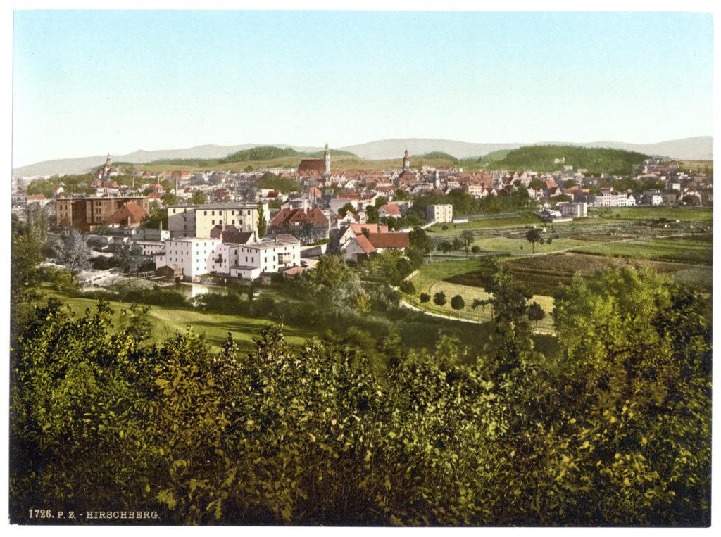 Hirschberg (Schlesien, Regbez. Liegnitz, Riesengebirge)