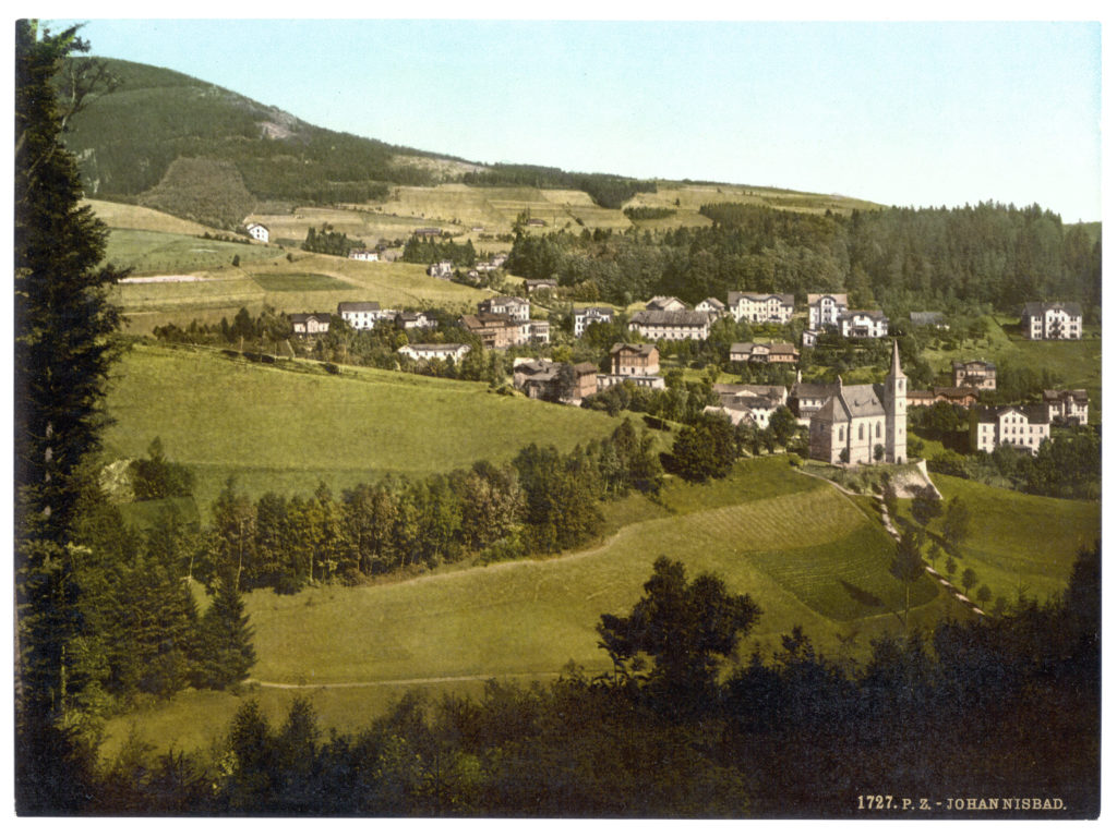 Johannisbad (Böhmen, Bezirksh. Trautenau, Riesengebirge)