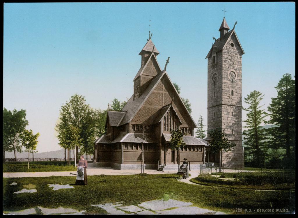 Kirche Wang bei Krummhübel, Riesengebirge