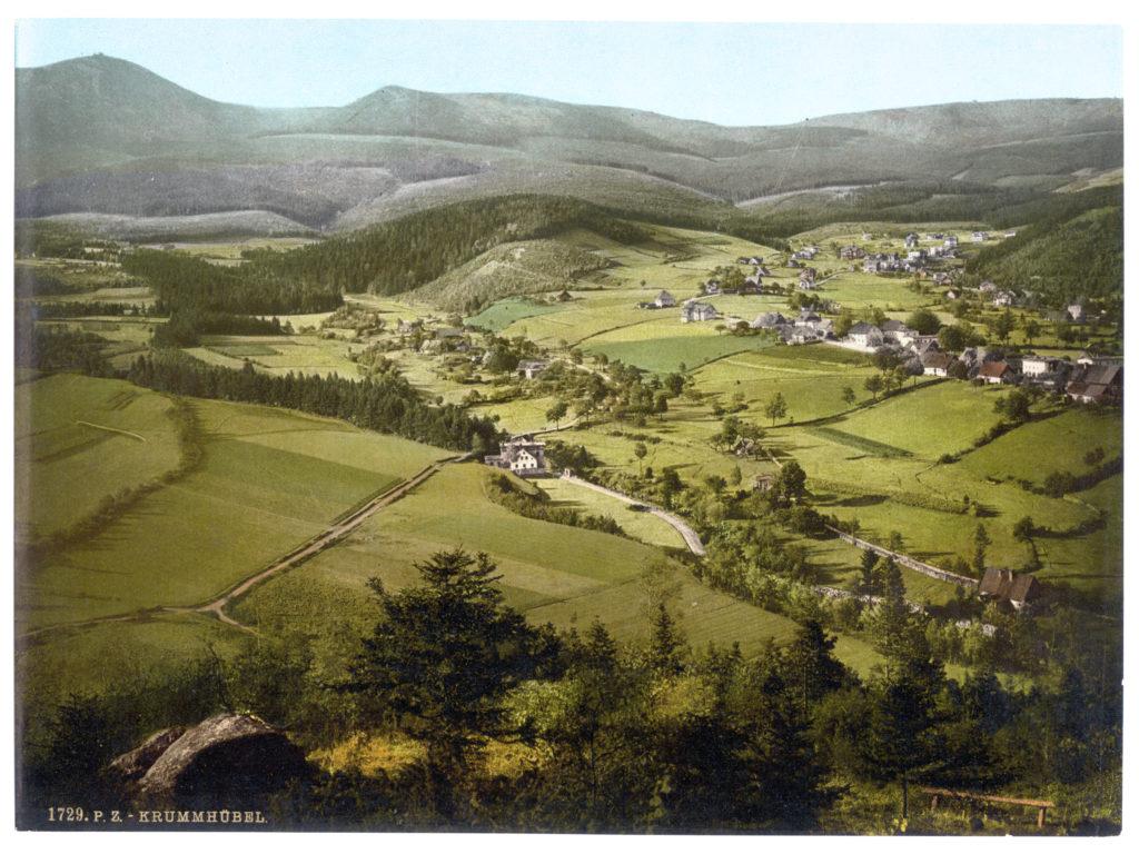 Krummhübel (Schlesien, Regbez. Liegnitz, Kreis Hirschberg, Riesengebirge)