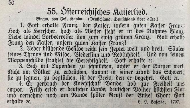 Österreichisches Kaiserlied