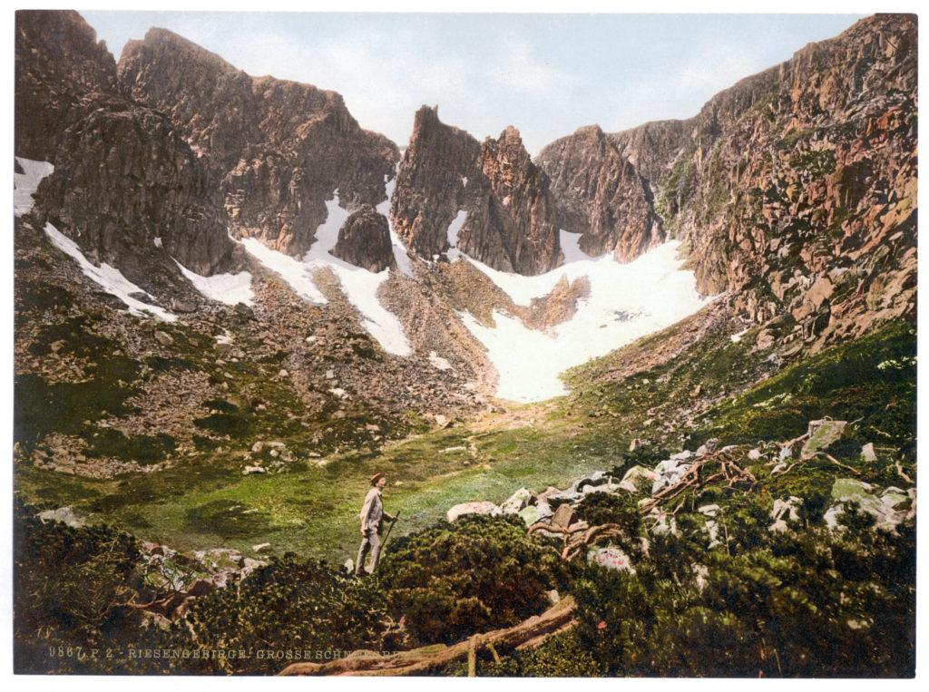 Riesengebirge. Große Schneegrube.