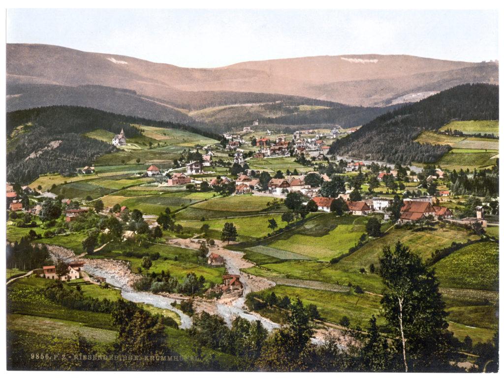 Riesengebirge. Krummhübel (Schlesien, Regbez. Liegnitz, Kreis Hirschberg)