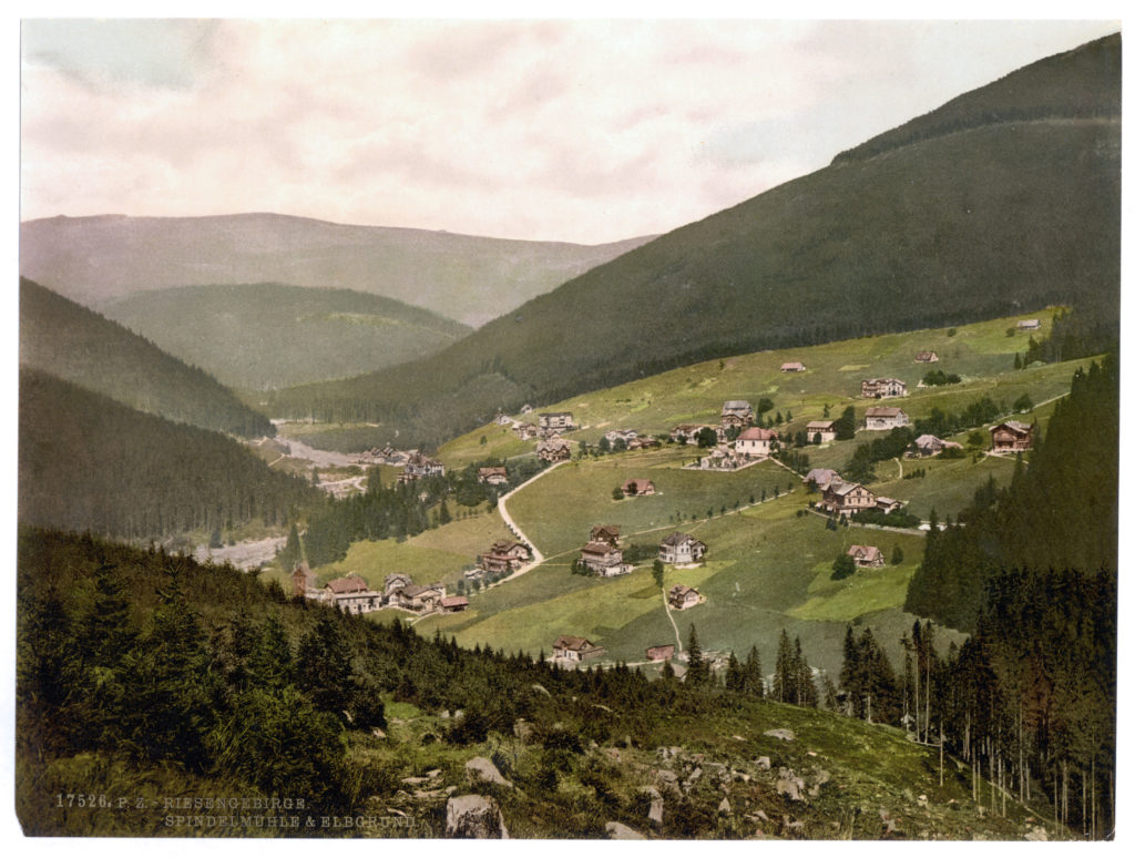 Riesengebirge. Spindelmühle & Elbgrund. (Böhmen, Bezirksh. Hohenelbe)