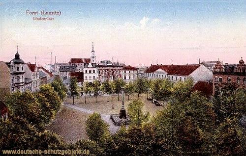 Forst i. L., Lindenplatz