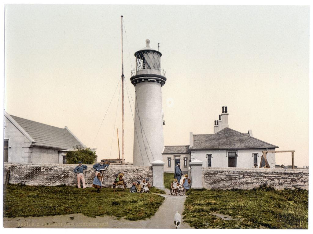 Helgoland. Leuchtturm.