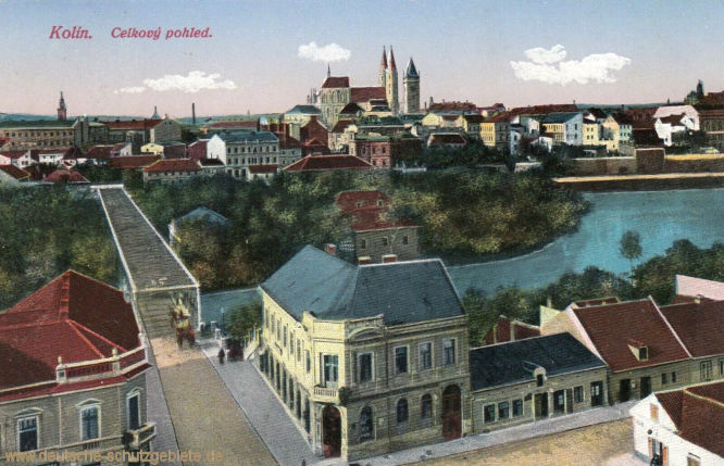 Kolin in Böhmen, Celkový pohled (Totalansicht)