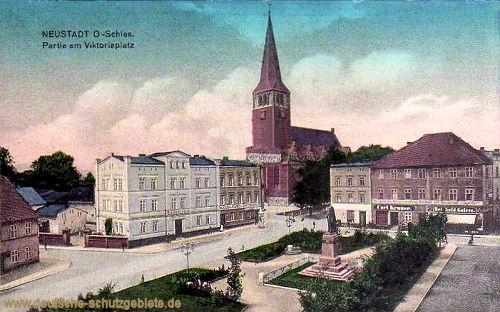Neustadt, Oberschlesien, Partie am Viktoriaplatz