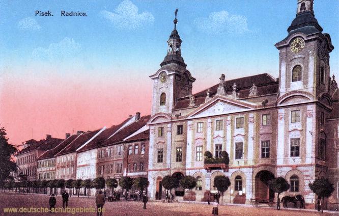 Pisek, Radnice (Rathaus)