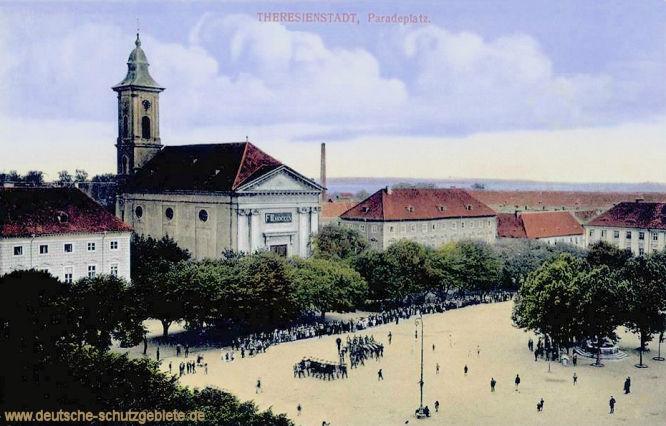 Theresienstadt, Paradeplatz