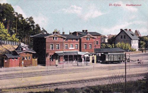 Deutsch-Eylau, Stadtbahnhof