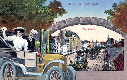Düsseldorf, Alleestraße