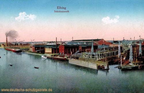 Elbing, Schichauwerft