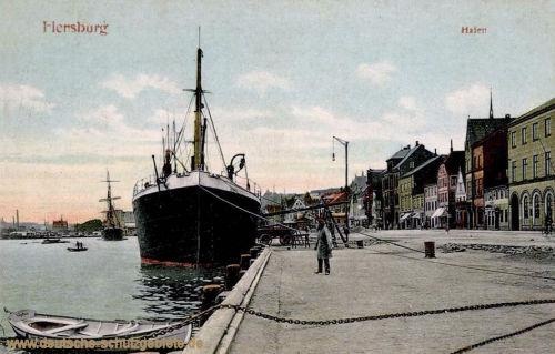 Flensburg, Hafen