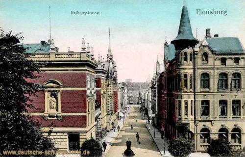 Flensburg, Rathausstraße