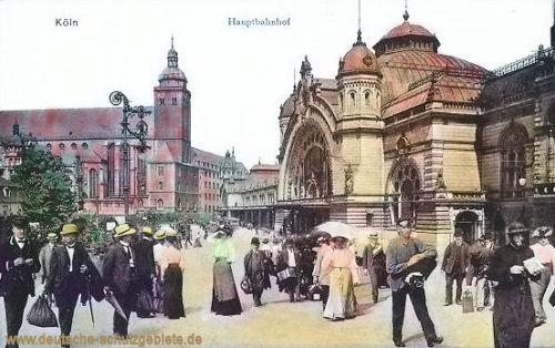 Köln. Hauptbahnhof