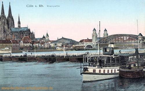 Köln, Rheinpartie