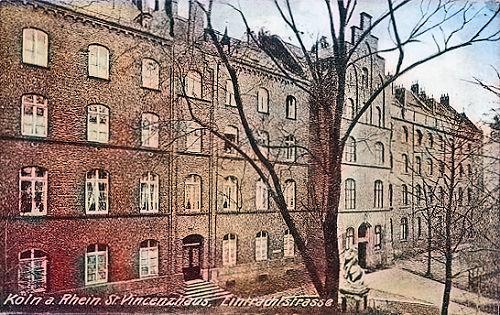 Köln. St. Vincenzhaus, Eintrachtstraße