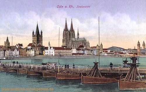 Köln. Totalansicht