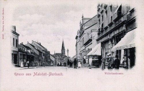 Malstatt-Burbach, Wilhelmstraße