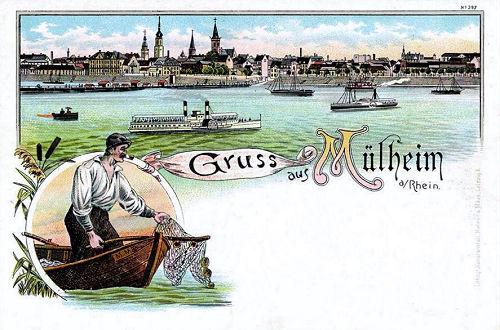 Mülheim am Rhein, Panorama