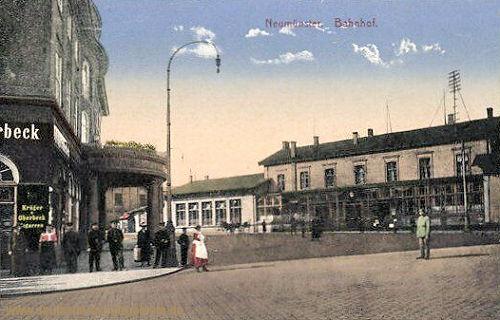 Neumünster, Bahnhof